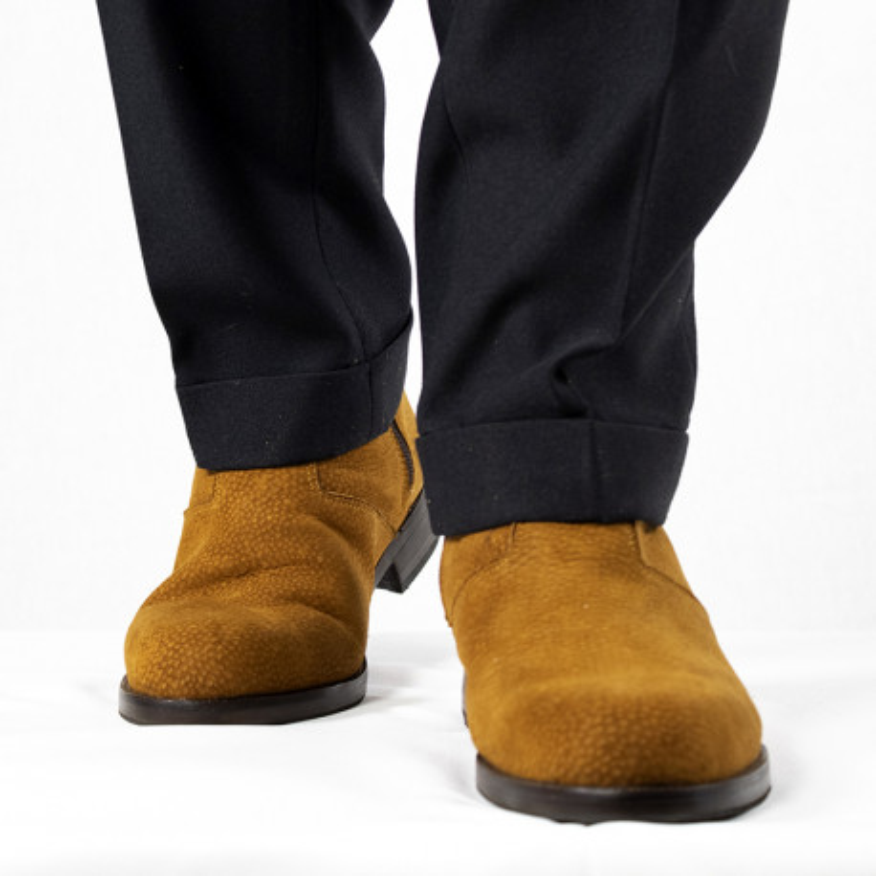 Capybara leather zippered boots |El Boyero