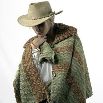 Capa de cuero y lana |El Boyero