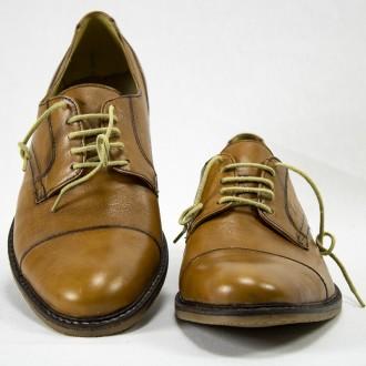 Zapato acordonado cuero negro El Boyero