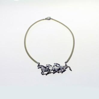 Horses pendant necklace |El Boyero