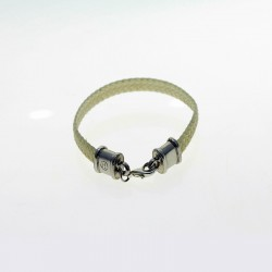 Raw leather bracelet |El Boyero