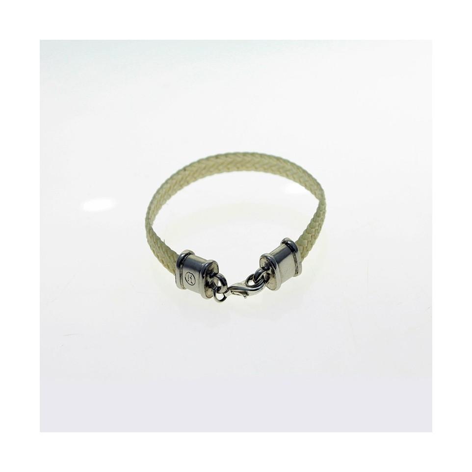 Raw leather bracelet |El Boyero