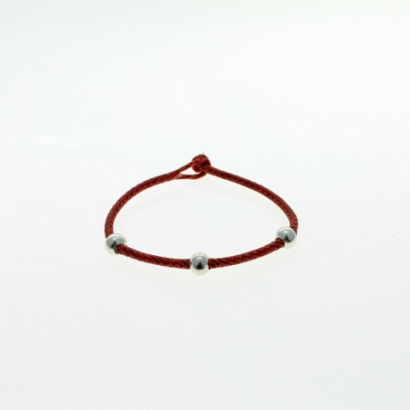 Braided raw leather bracelet |El Boyero