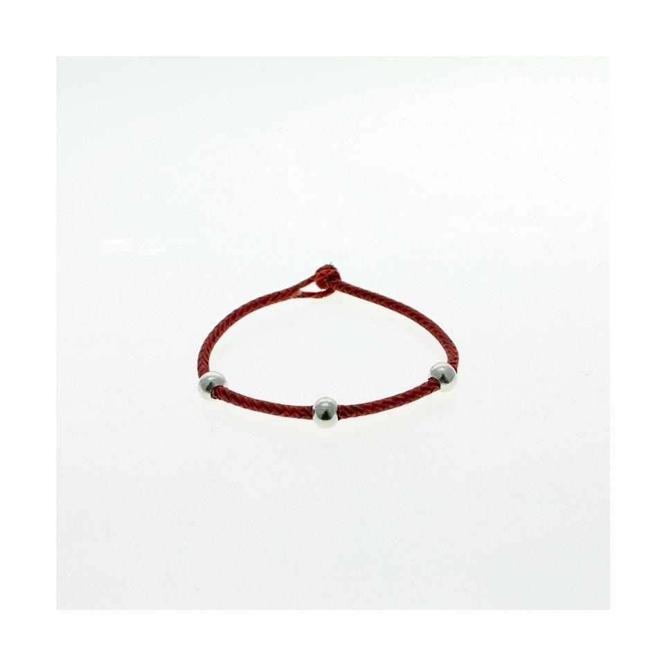 Braided raw leather bracelet |El Boyero
