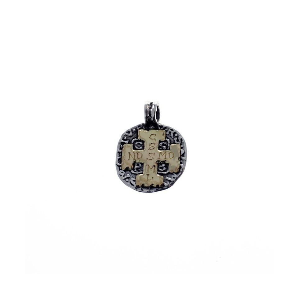 Medalla San Benito plata y oro |El Boyero