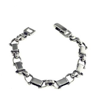 Link bracelet snaffles design |El Boyero