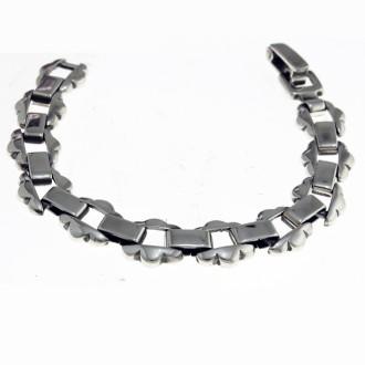 Link bracelet colonial design