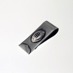 Rugby design money clip