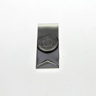 Patacón coin moneyclip  El Boyero