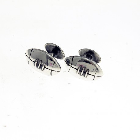 Rugby design cufflinks