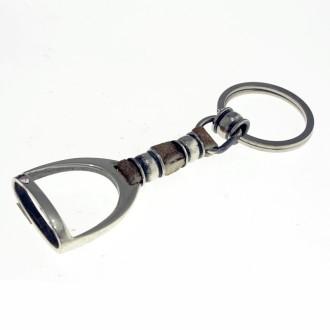 Stirrup keychain