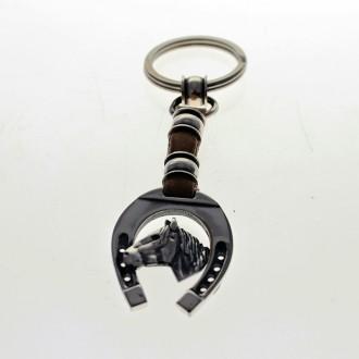 Llavero corto con diseño de caballo |El Boyero