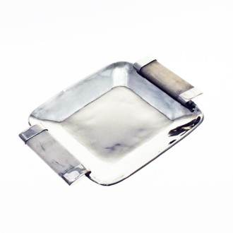 Nickel silver small square tray