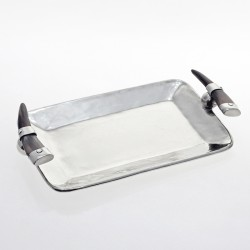 Small tray with horn handles |El Boyero