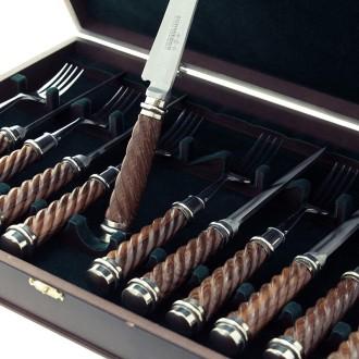 Caja con 12 piezas - Cuchillo y Tenedor