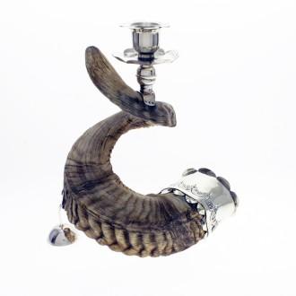 Small ram horn candlestick |El Boyero