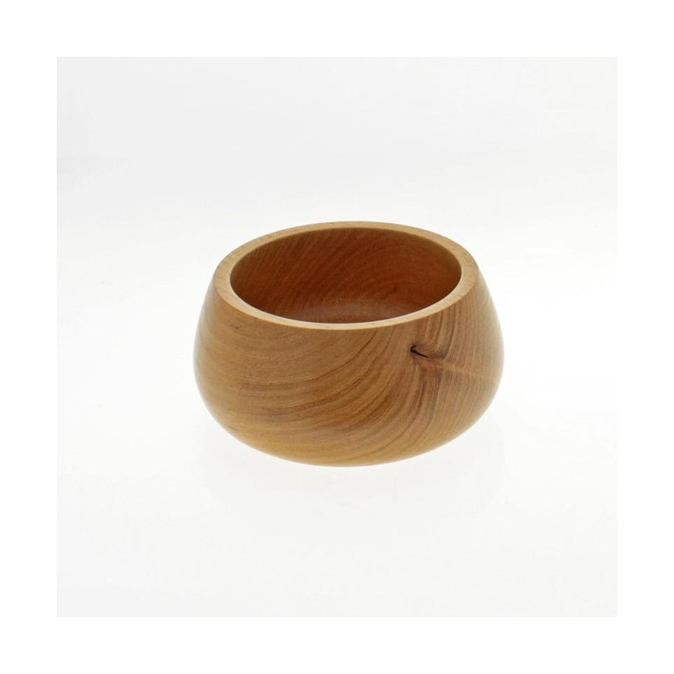 Bowl redondo de madera de 14 cm |El Boyero