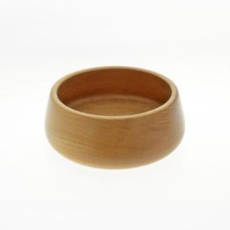Bowl redondo de madera de 18 cm