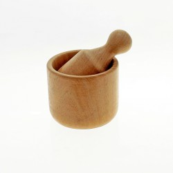 Wood pestle and mortar |El Boyero