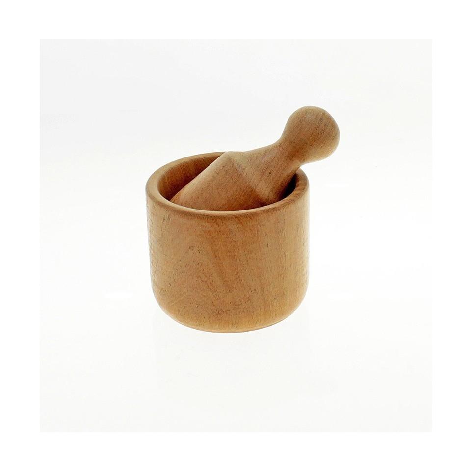 Wood pestle and mortar |El Boyero