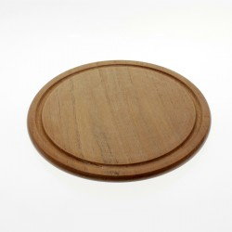Plato de madera de calden