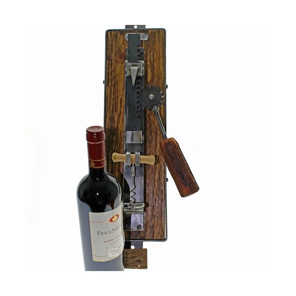 Wall corkscrew