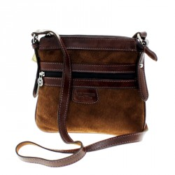 Capybara flat crossbody purse