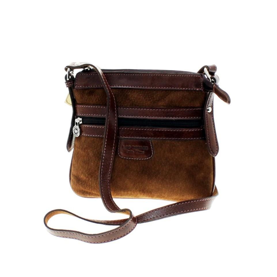 Capybara flat crossbody purse