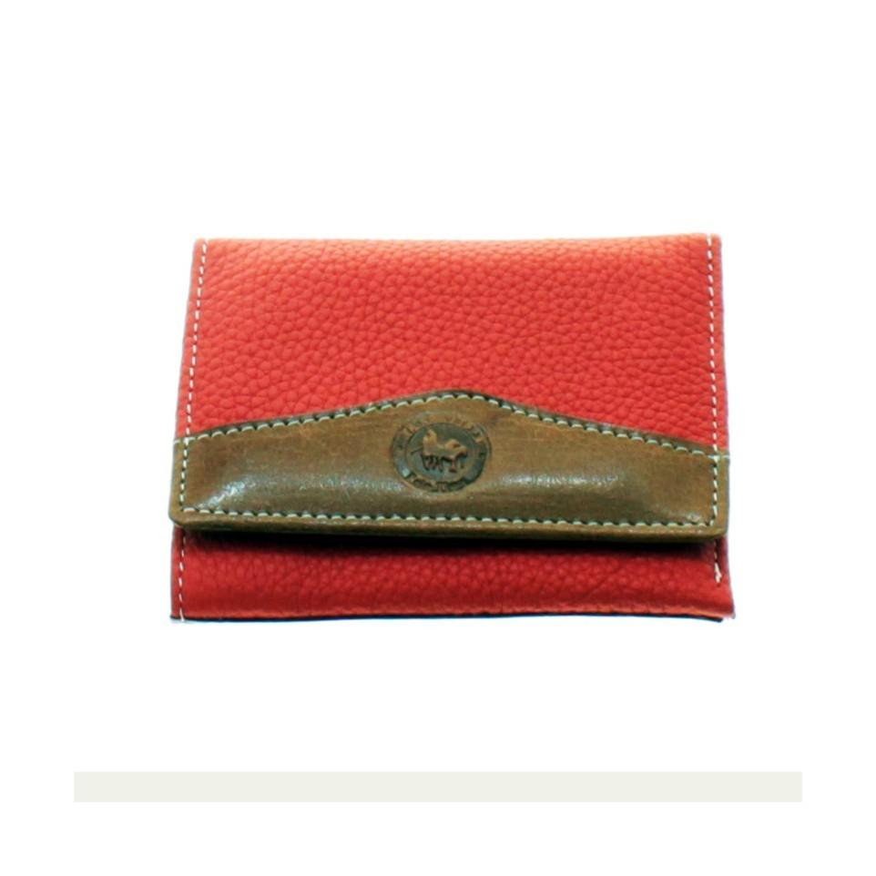 Soft cow leather trifold women's wallet |El Boyero