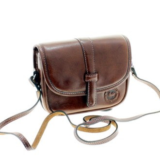 Cow leather crossbody purse with strap |El Boyero