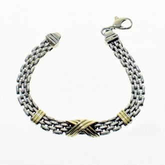 Brazalete de plata y oro |El Boyero