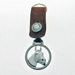 Horse head fretwork big keychain |El Boyero