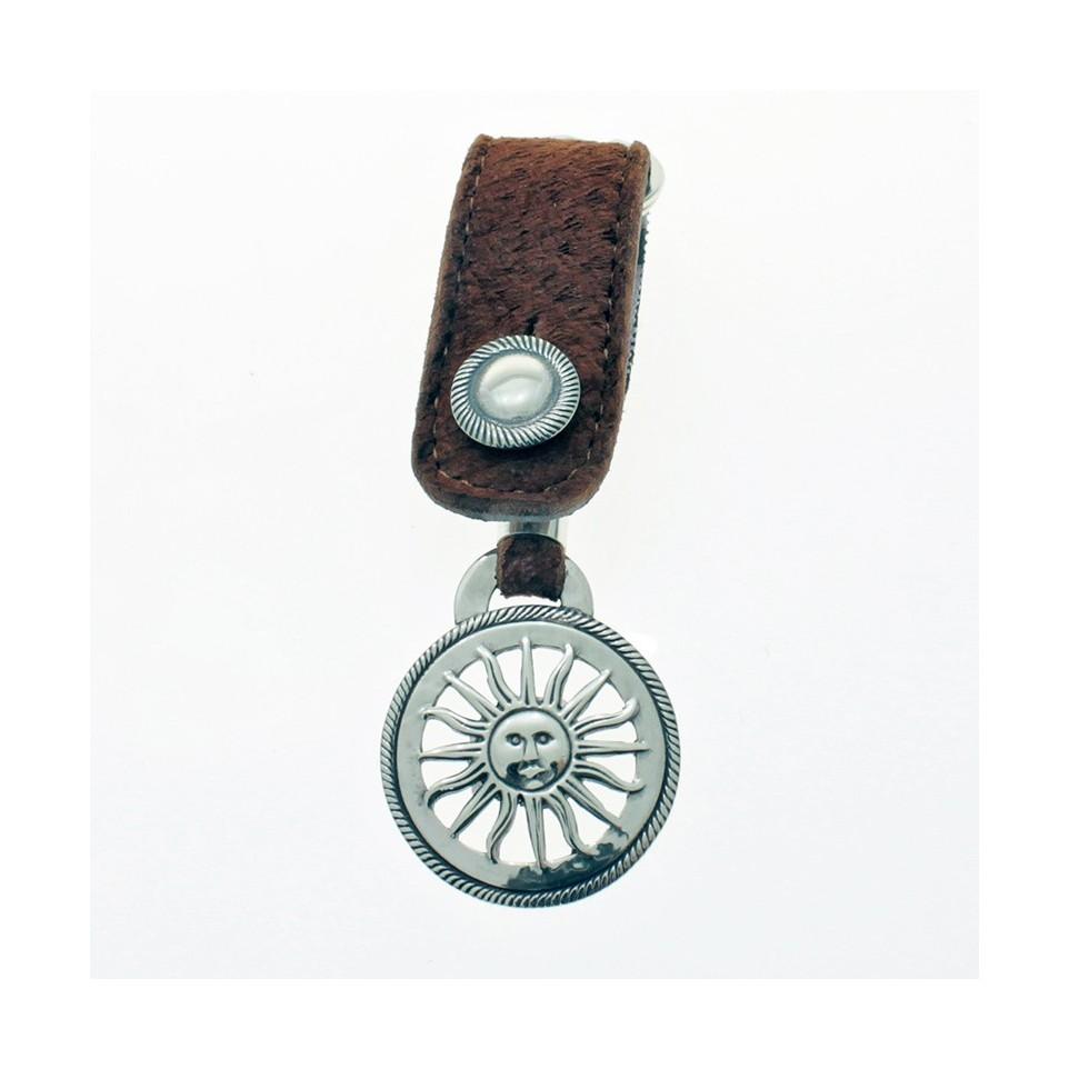 Sun fretwork big keychain |El Boyero