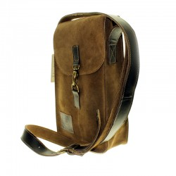 Suede cowhide thermo bag