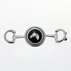 Horse sterling silver belt buckle |El Boyero