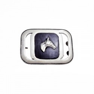 Hebilla de plata - Diseño caballo |El Boyero