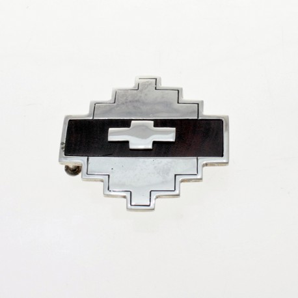 Hebilla de plata - Diseño Cruz Pampa |El Boyero