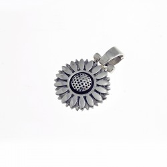 Colgante de plata - Diseño Girasol |El Boyero
