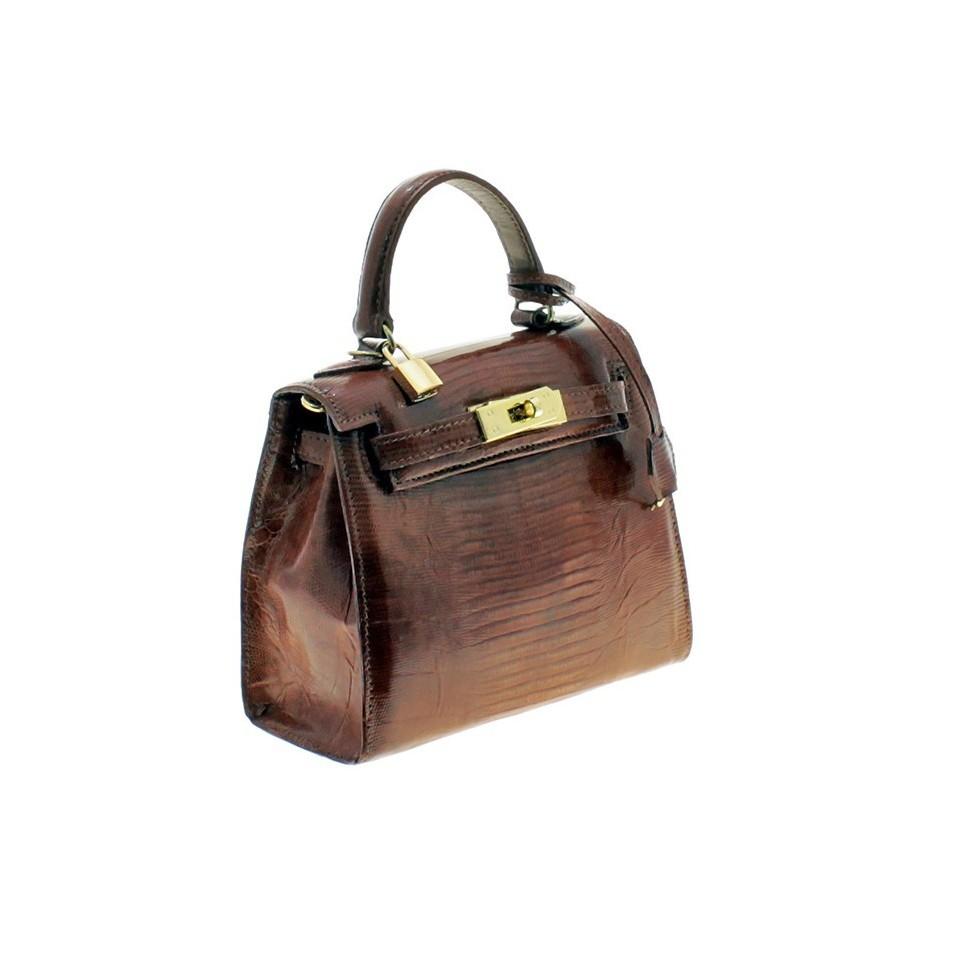 Lizard leather small purse