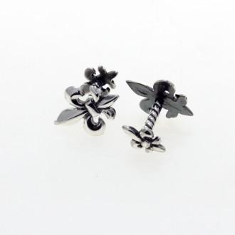 Fleur-de-lis cufflinks |El Boyero