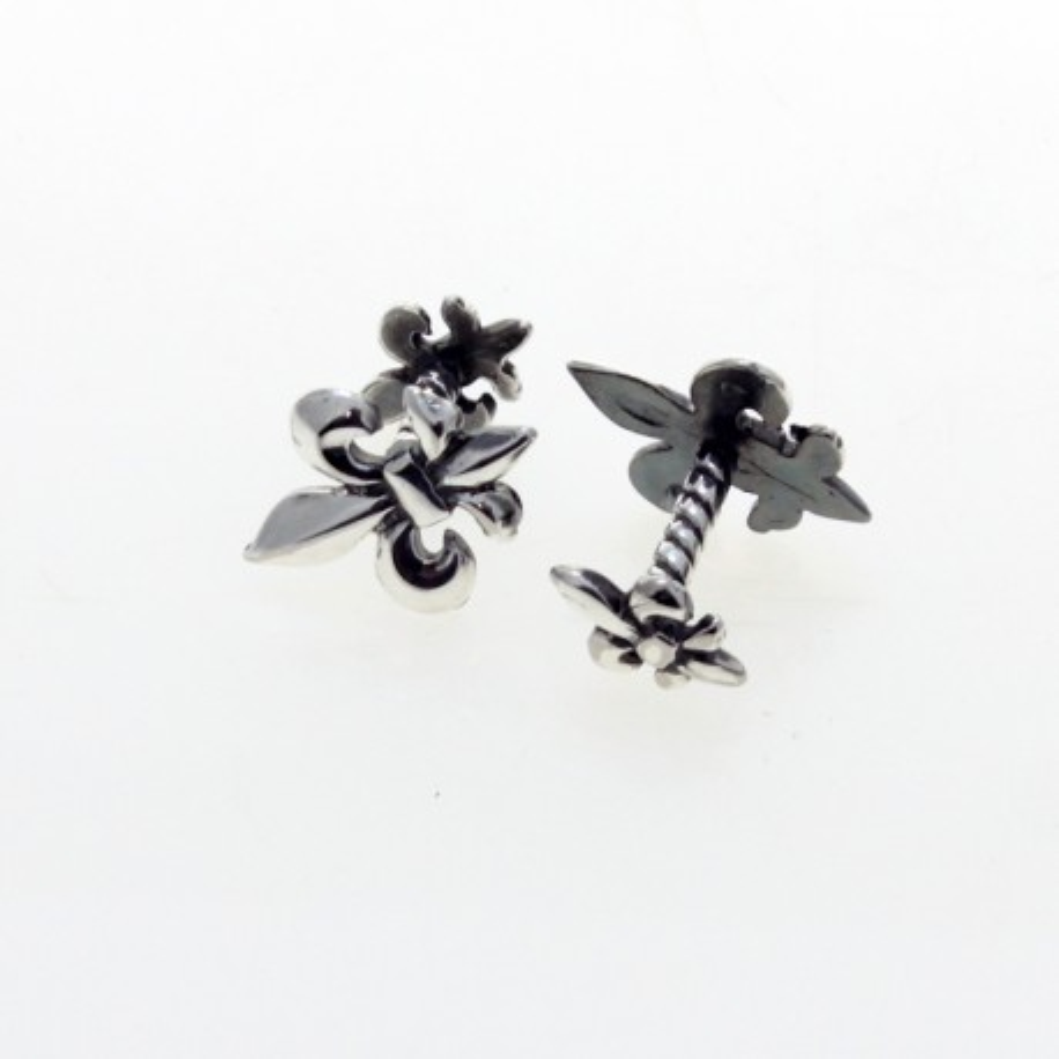 Fleur-de-lis cufflinks