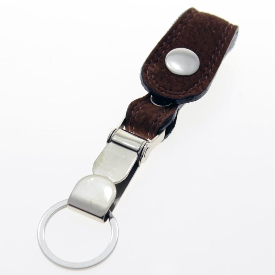 Capybara leather carabinier keychain |El Boyero