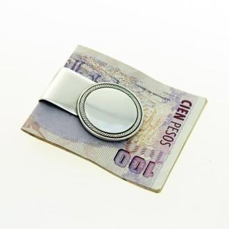 Plain medal moneyclip |El Boyero