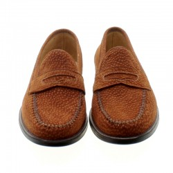 Capybara leather loafers