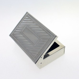 Nickel silver small box |El Boyero