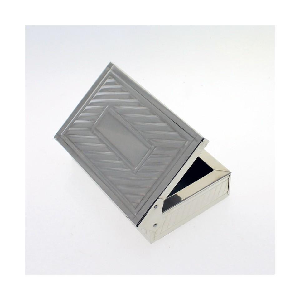 Nickel silver small box |El Boyero