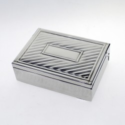 Nickel silver box |El Boyero