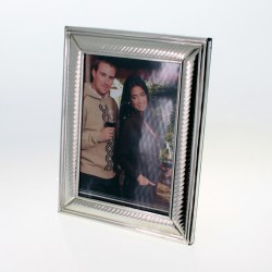 Handmade nickel silver photo frame |El Boyero