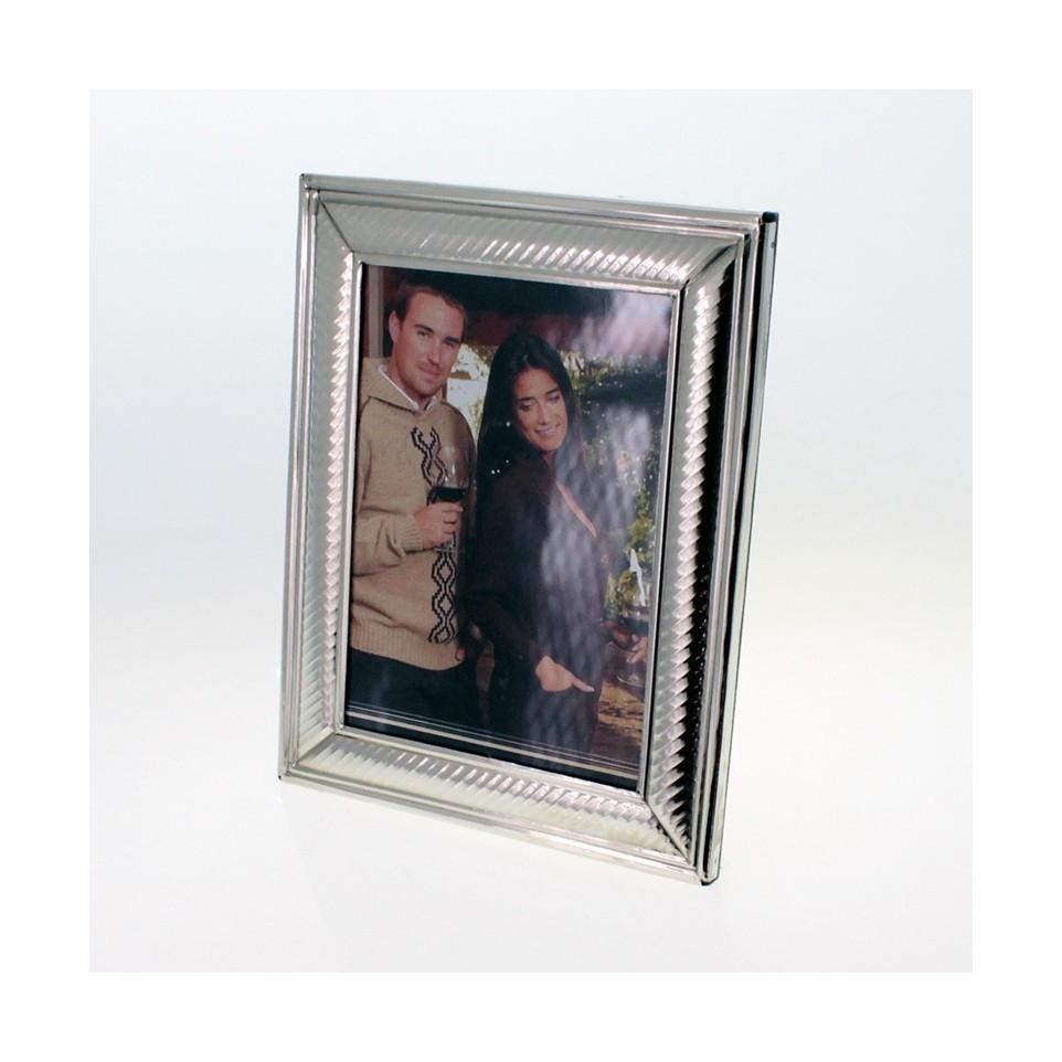 Handmade nickel silver photo frame |El Boyero