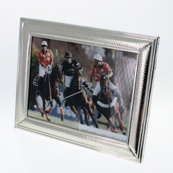 Handmade nickel silver large photo frame |El Boyero
